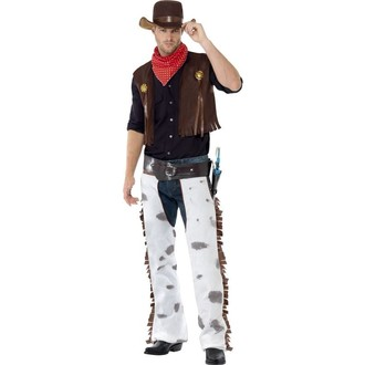Kovbojové-divoký západ - Kostým Kovboj