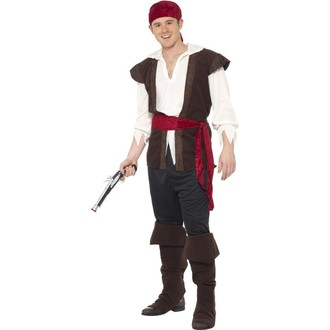 Piráti - Kostým Pirát-karnevalový kostým