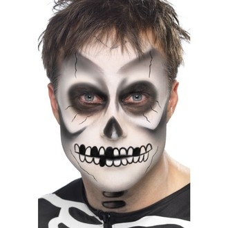 Halloween, strašidelné kostýmy - Make up Sada kostlivec