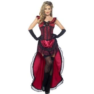 Kostýmy - Kostým Lehká dívka červená