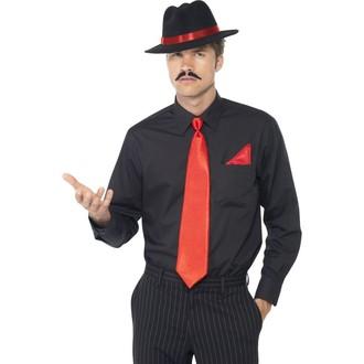 Karnevalové doplňky - Sada Gangster červená