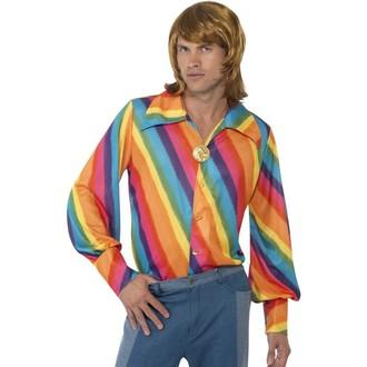 Hippie - Košile duhová