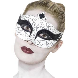 Masky - Škraboška Černá labuť