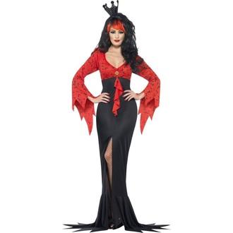 Halloween, strašidelné kostýmy - Kostým Královna ďáblů