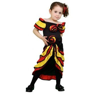 Kostýmy - Dětský kostým Tanečnice rumby