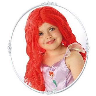 Televizní hrdinové - Dětská paruka Ariel