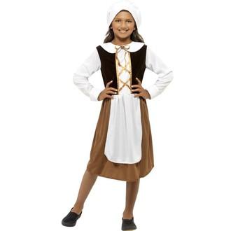 Kostýmy - Dětský kostým Tudor girl