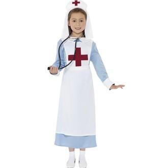 Povolání, řemesla, profese - Dětský kostým Zdravotní sestřička