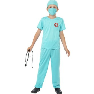 Kostýmy - Dětský kostým Chirurg