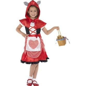 Kostýmy z filmů a pohádek - Dětský kostým Červená Karkulka
