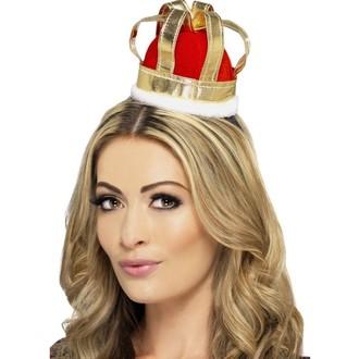 Karnevalové doplňky - Mini královská koruna