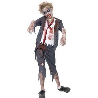 Kostýmy - Dětský kostým Zombie školák