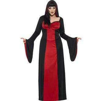 Kostýmy - Kostým Temná svůdkyně (i pro plnoštíhlé)
