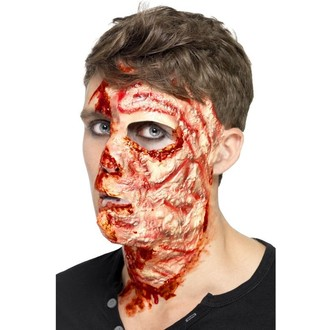 Karnevalové doplňky - Zranění Spálený obličej