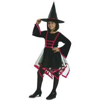 Čarodějnice - Dětský kostým Čarodějnice lux