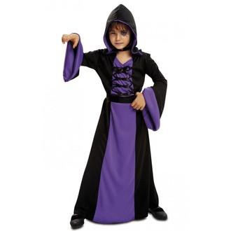 Kostýmy - Dětský kostým Fialová kouzelnice