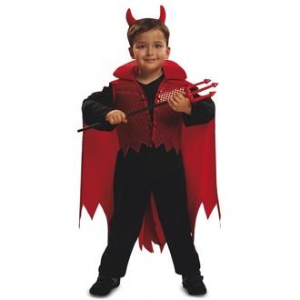 Mikuláš - Čert - Anděl - Dětský kostým Čert s rohy