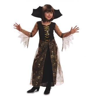Čarodějnice - Dětský kostým pavoučí čarodějka