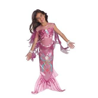 Televizní hrdinové - kostým Mořská panna růžová