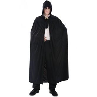 Halloween, strašidelné kostýmy - Plášť s kapucí černý