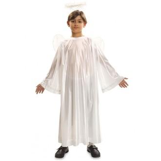 Mikuláš - Čert - Anděl - Dětský kostým Anděl + křídla