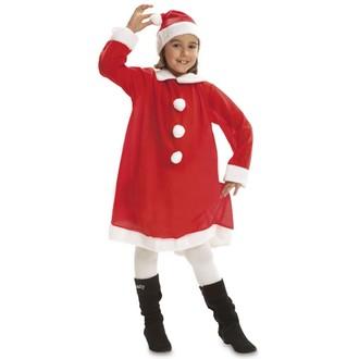 Kostýmy - Dětský kostým Santova žena