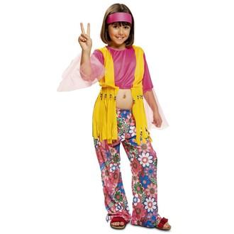 Hippie - Dětský kostým Hippiesačka