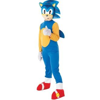 Kostýmy - Dětský kostým Sonic the Hedgehog
