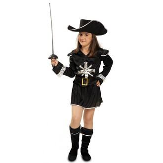 Historické kostýmy - Dětský kostým Mušketýrka