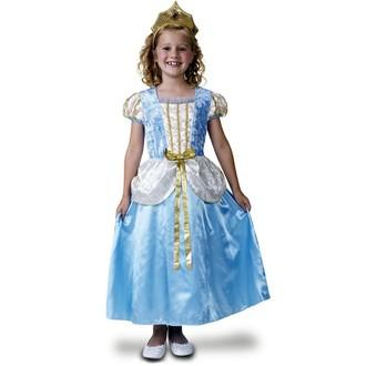 Kostýmy - Dětský kostým Princezna deluxe,modrá