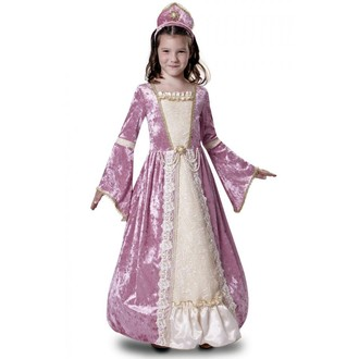 Kostýmy - Dětský kostým Princezna růžová