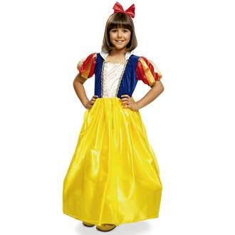 Kostýmy - Dětský kostým Sněhurka