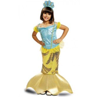 Kostýmy z filmů a pohádek - Dětský kostým Mořská panna