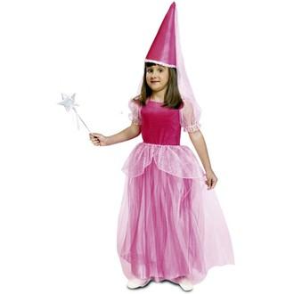 Kostýmy - Dětský kostým Růžová víla