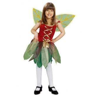 Princezny-Víly - Dětský kostým Lesní víla