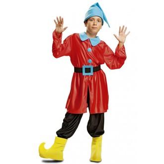Kostýmy - Dětský kostým Skřítek červený