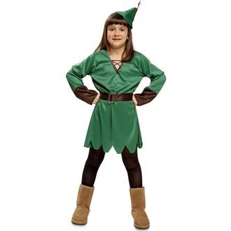 Kostýmy z filmů a pohádek - Dětský kostým Lady Robin Hood