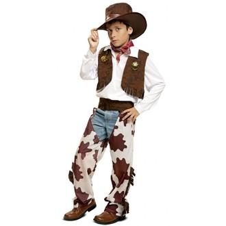 Kovbojové-divoký západ - Dětský kostým Kovboj