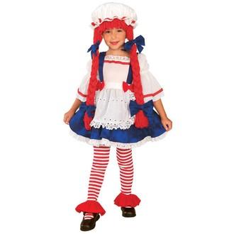 Kostýmy z filmů a pohádek - Dětský kostým Pipi dlouhá punčocha