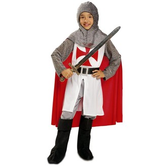 Historické kostýmy - Dětský kostým Středověký rytíř s pláštěm