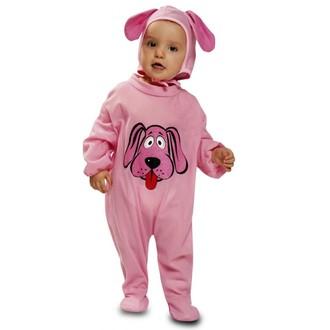 Kostýmy - kostým pro miminka Růžový pejsek