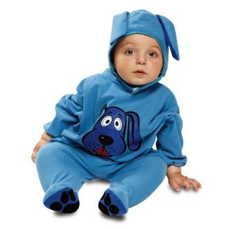 Kostýmy - Dětský kostým Modrý pejsek