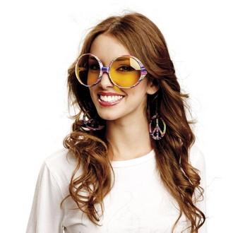 Hippie - Brýle Hippie pruhované