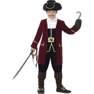 Kostýmy - Dětský kostým Pirátský kapitán