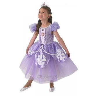 Princezny-Víly - Dětský kostým Sofia premium