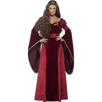 Historické kostýmy - Kostým Středověká královna