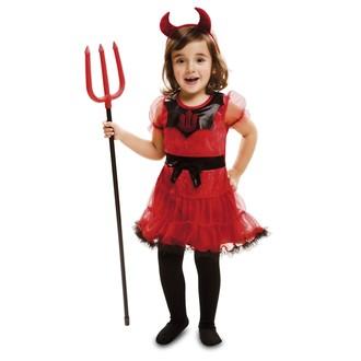 Mikuláš - Čert - Anděl - Dětský kostým Čertice