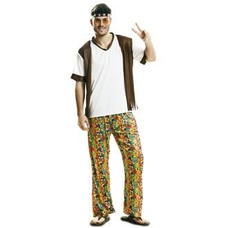 Hippie - Kostým Happy hippie boy