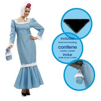 Kostýmy - Kostým Madridská žena modrá