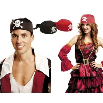 Klobouky,čepice.. - Klobouk Pirátský šátek